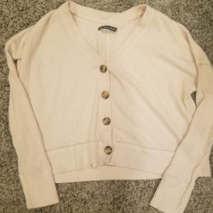 Abercrombie & Fitch Cropped Cardigan Small
